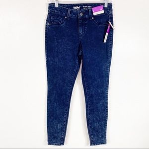 NEW Mossimo Mid Rise Denim Jegging Jeans Size 4
